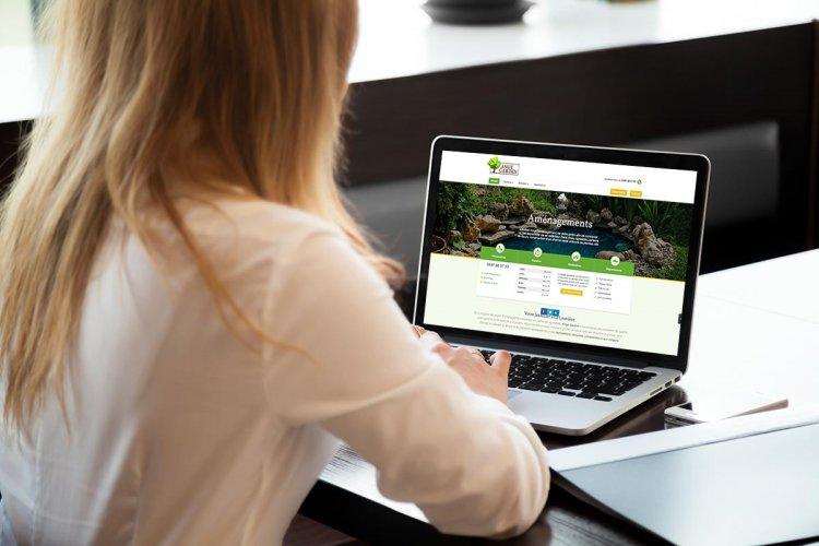 Création de site internet pour entreprise de jardinage