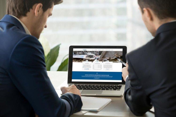 Création site internet bureau assurances
