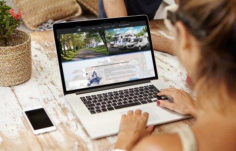 Mise en ligne d'un site de location de véhicules