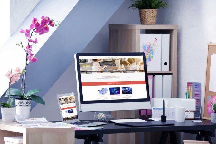 Réalisation d'un site web corporate, eCommerce et de réflexions