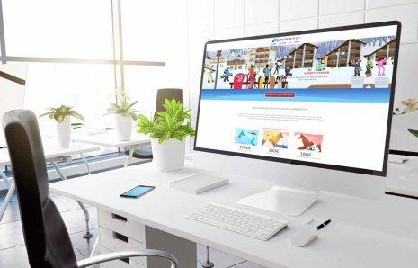 Création landing page et site web pour un produit d'assurance